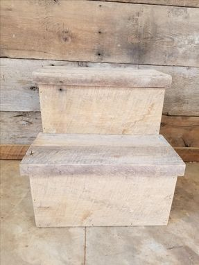 Custom Made Reclaimed Step Stool