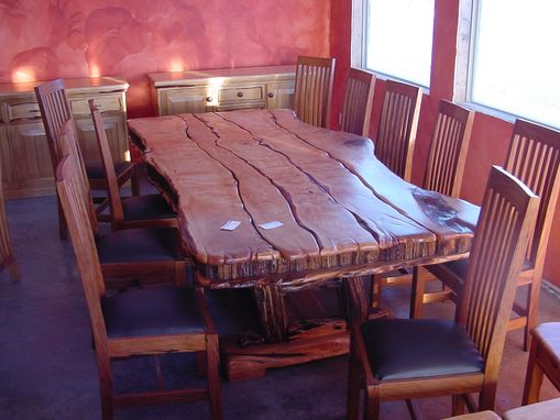 Custom Made Yellowood Sneezewood Dining Table Set