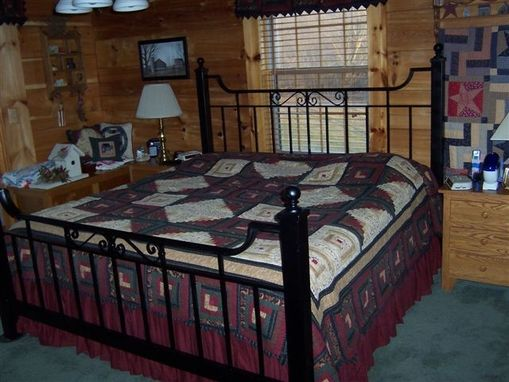 Custom Made Wrought Iron Bed