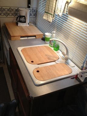 Custom Made Rv Sink And Range Cover