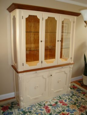 Custom Made Dining Room Hutch Top