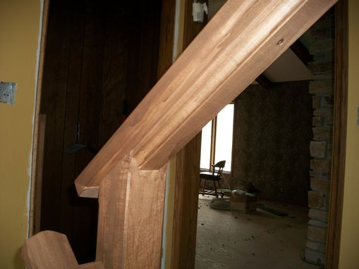 Custom Made Maple Hand Rail