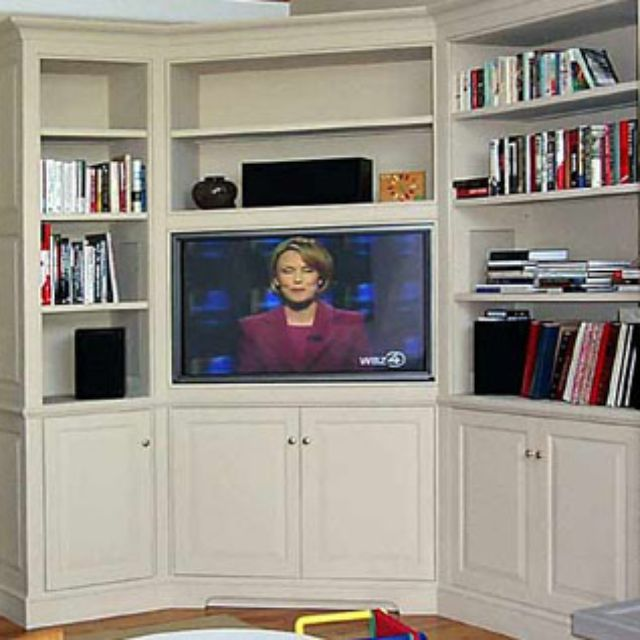 Handmade Built In Corner Entertainment Center By R E Higgins Steele Inc Custommade
