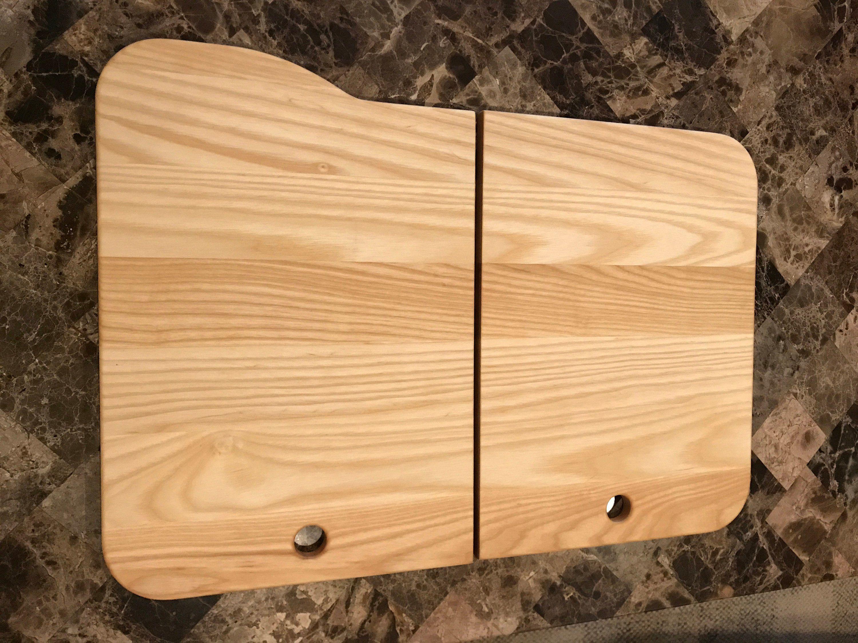 Custom Rv Sink Covers Cutting Board by Miikana Woodworking