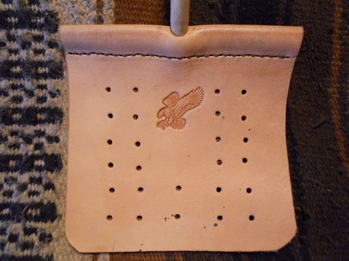 Custom Made Leather Flyswatter/Cat Toy