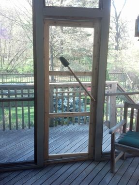 Custom Made Custom Screen Door