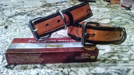 Custom Made Custom Leather Dog Or Cat Collars