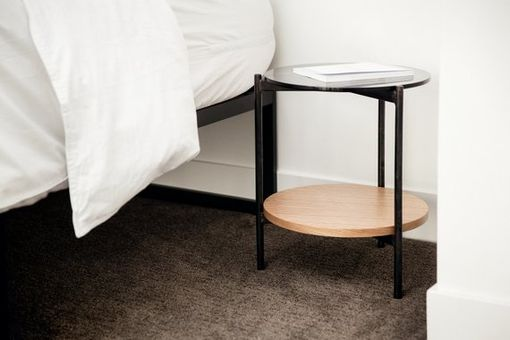 Custom Made Strata Side Table