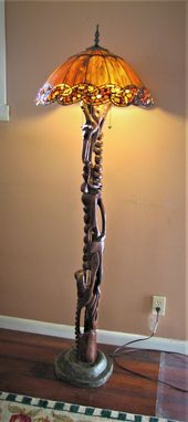Custom Made One Of A Kind Floor Lamp