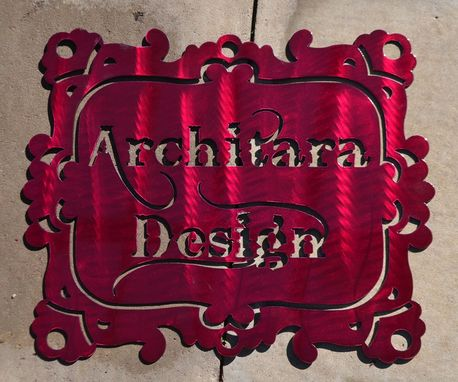 Custom Made Custom Metal Signs- Business And Home Decor