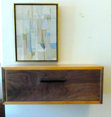 Custom Made Floating Wall Box With Drawer