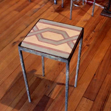 Custom Made Tile Stool
