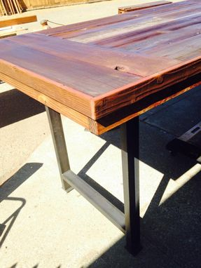 Custom Made Reclaimed Wood Custom Designed Table