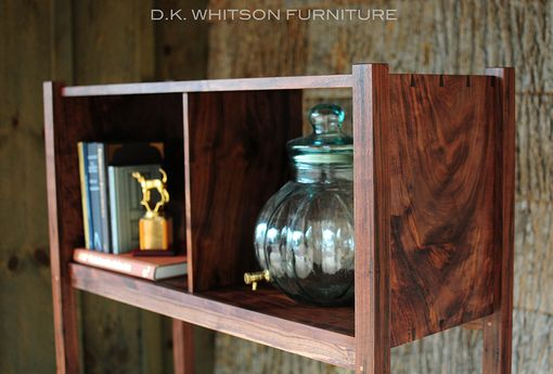 Custom Made Houston Bookcase - Walnut