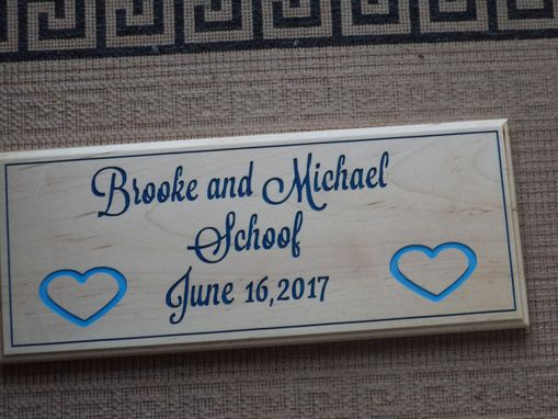 Custom Made Wedding Sign, Engament Sign, Anniversary Sign