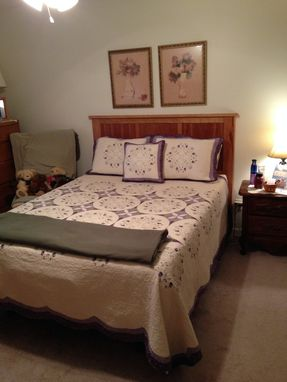 Custom Made Cherry Headboard