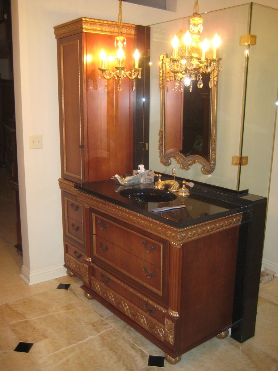 Custom Made Baroque Vanity By Pch Furniture Amp Design