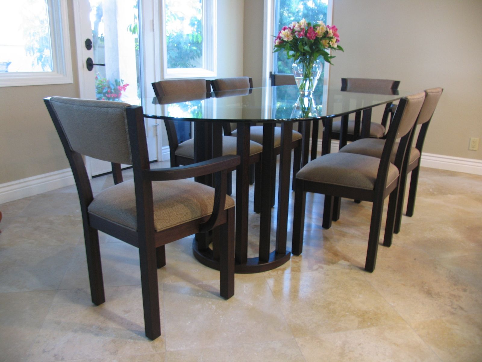 Custom Dining Chairs And Table by Del Cover Woodworking ...