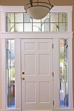 Custom Made Stained/Leaded Glass Windows In Entry Way, Bedroom, Dining Room