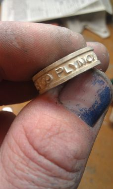 Custom Made Class Ring Band Style