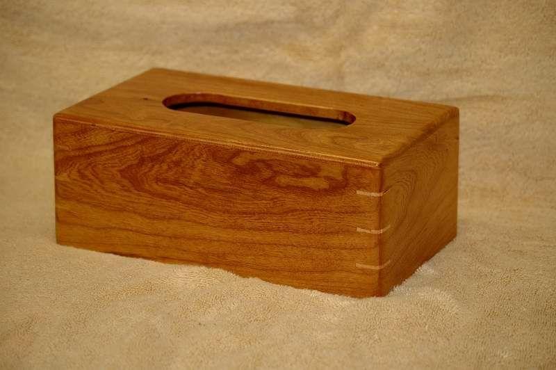 Custom Made Cherry Tissue Box Cover
