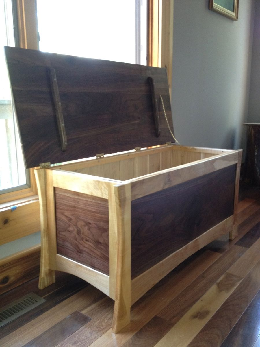 Custom Lorie Hope Chest by Drake Woodworking | CustomMade.com