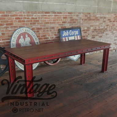 Custom Made Firehouse Table