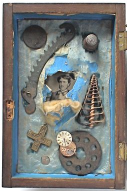 Custom Made Assemblage Art - 'Chime/Not Chime'