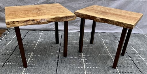 Custom Made Maple End Tables