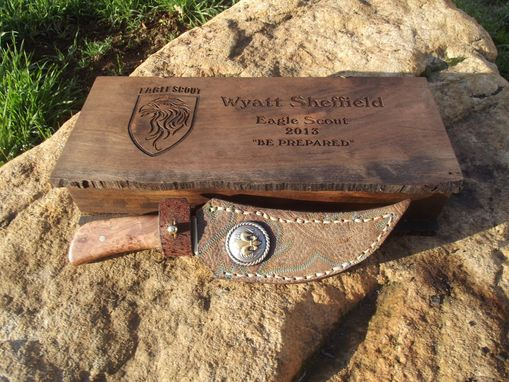 Custom Made Eagle Scout Commemoration Knife