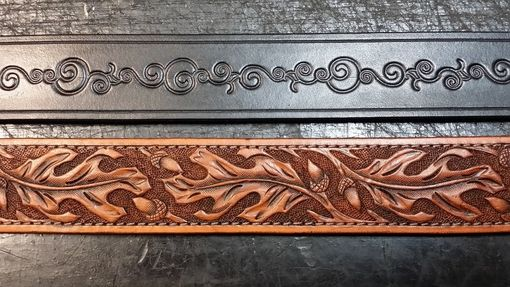 Custom Made Hand Tooled Leather Belts