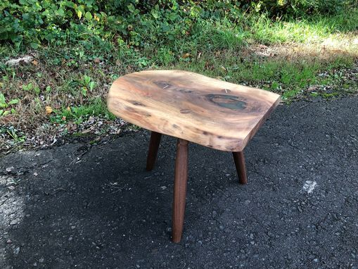 Custom Made Live Edge Accent / Side Table