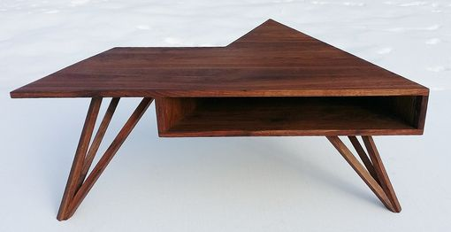 "Custom Made Angular ""Ziggy"" Table"