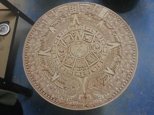 Custom Made Aztec Calendar