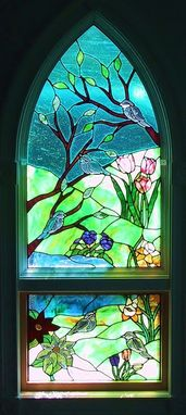 Custom Made Stained Glass/Bevel Window