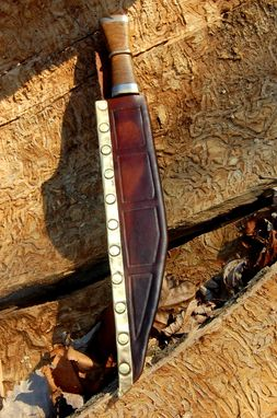 Custom Made Saxon Seax, Historical Knife