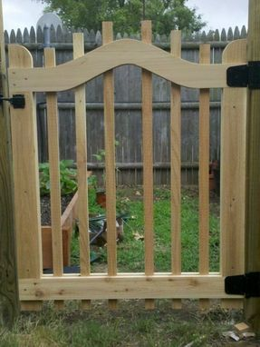 Custom Made Garden Gate And Trellis