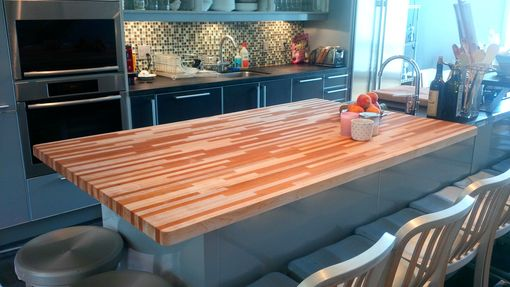 Custom Made Custom Butcher Block Countertops