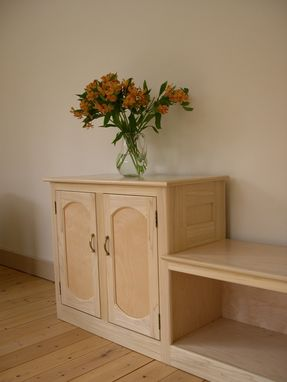Custom Made Entryway Cabinet And Bench