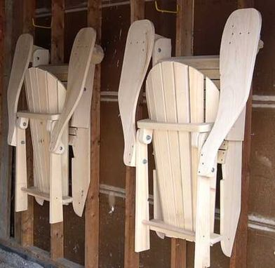 Custom Made Folding Adirondack Chair