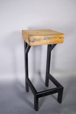 Custom Made Set Joist-Let Stools (4)