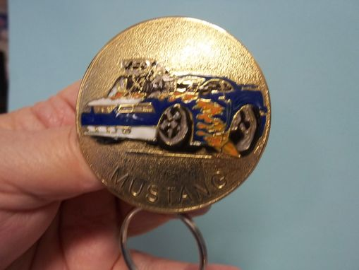 Custom Made Corvette Or Mustang Key Rings