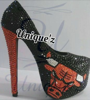 Custom Made Chicago Bulls Heels