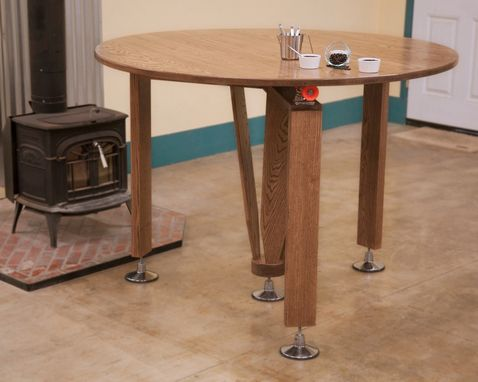 Custom Made 5' Round Cupping Table