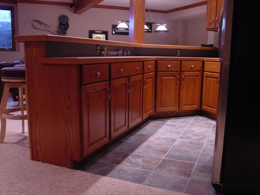 Custom Made Basement Game Room Kitchen