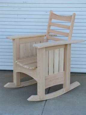 Custom Made Outdoor Reclining Rocking Chair