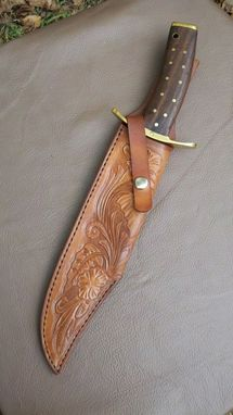 Custom Made Custom Sheath For Large Custom Knife