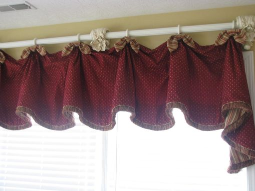 Custom Made Window Treatment For Sunroom