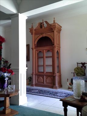 Custom Made Handmade China Cabinet