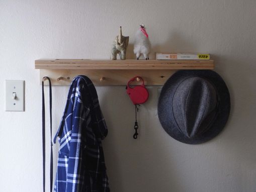 Custom Made Coat Shelf